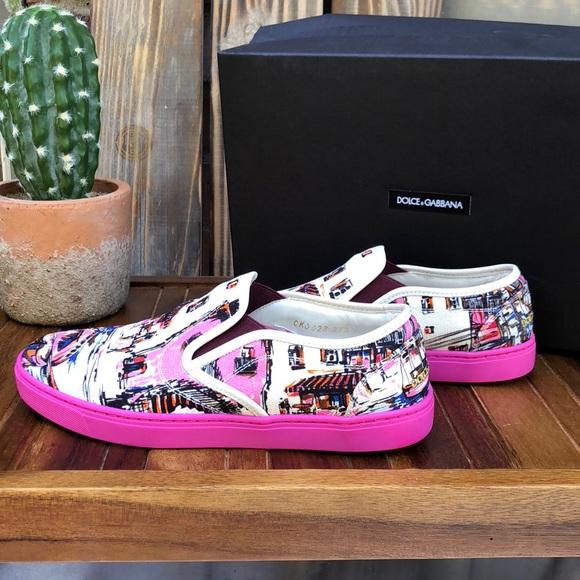 Dolce   Gabbana Shoes   Authentic Dolce Gabbana Sneakers   Poshmark 609cbb4626